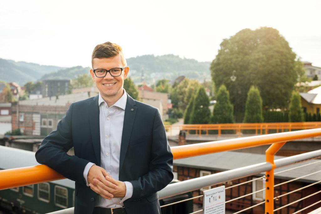 Dr. Daniel Schultheiß - OB-Wahl in Ilmenau 2018
